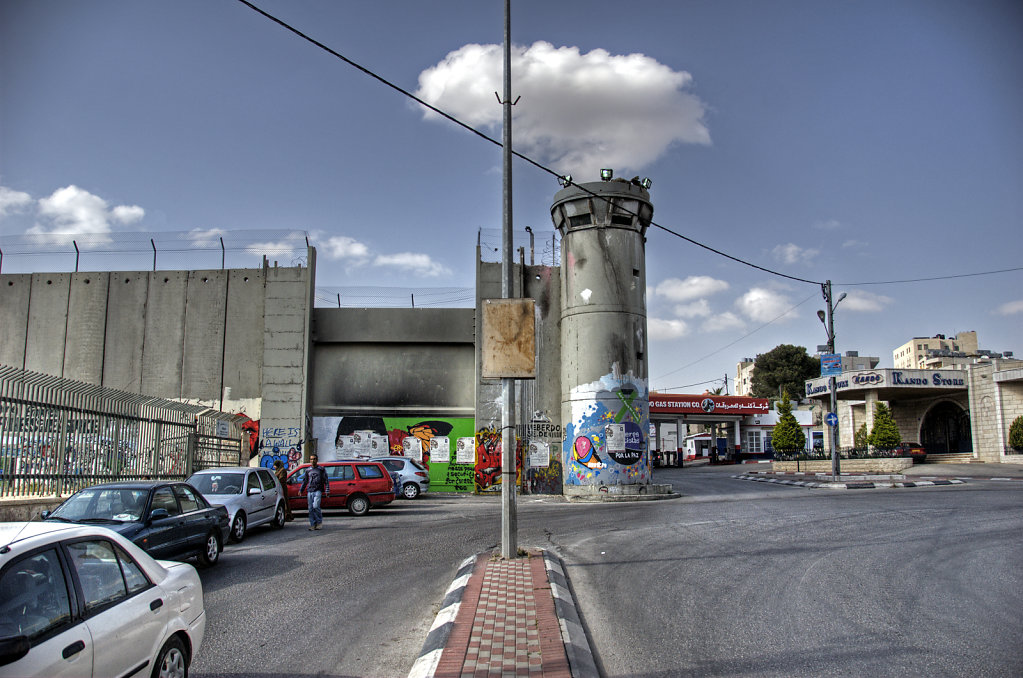 palästina- bethlehem - die mauer
