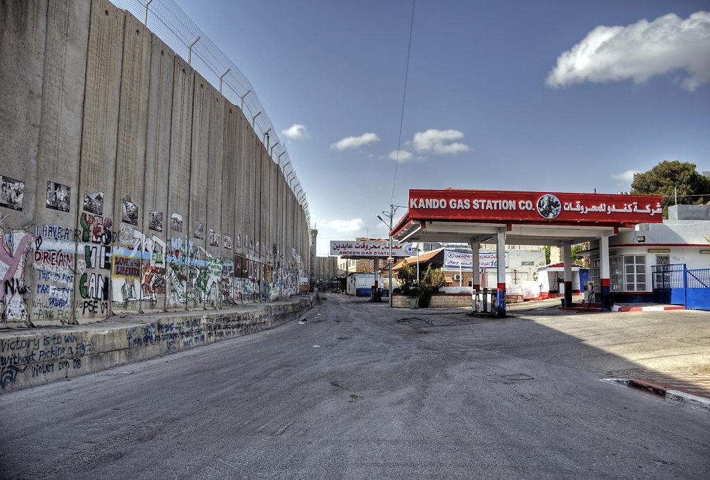 palästina- bethlehem - die mauer teil 2