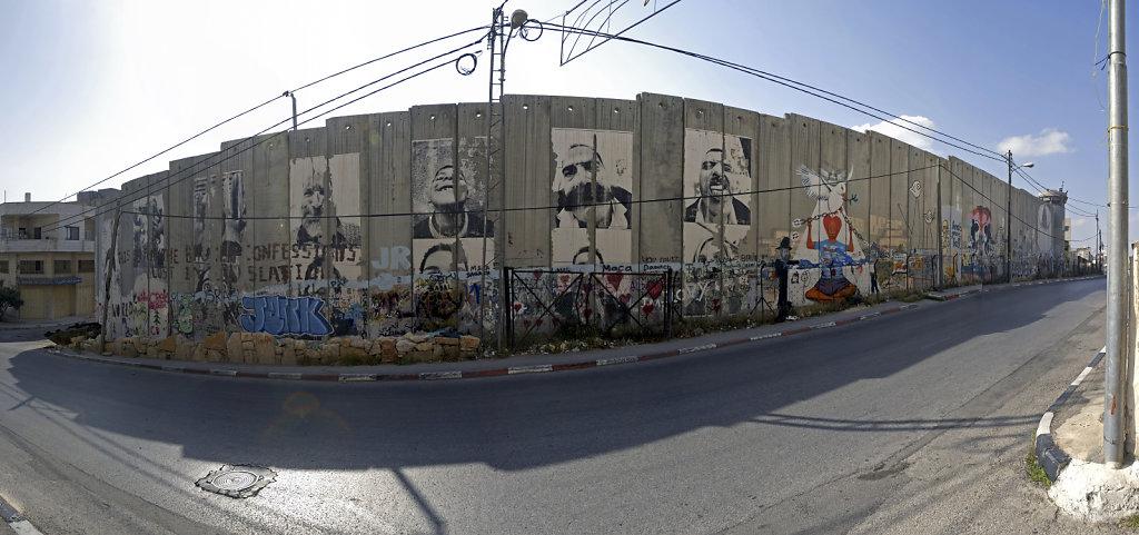 palästina- bethlehem - die mauer teil 4