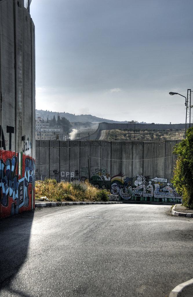 palästina- bethlehem - die mauer teil 5