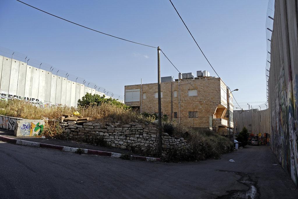 palästina- bethlehem - eingeschlossen