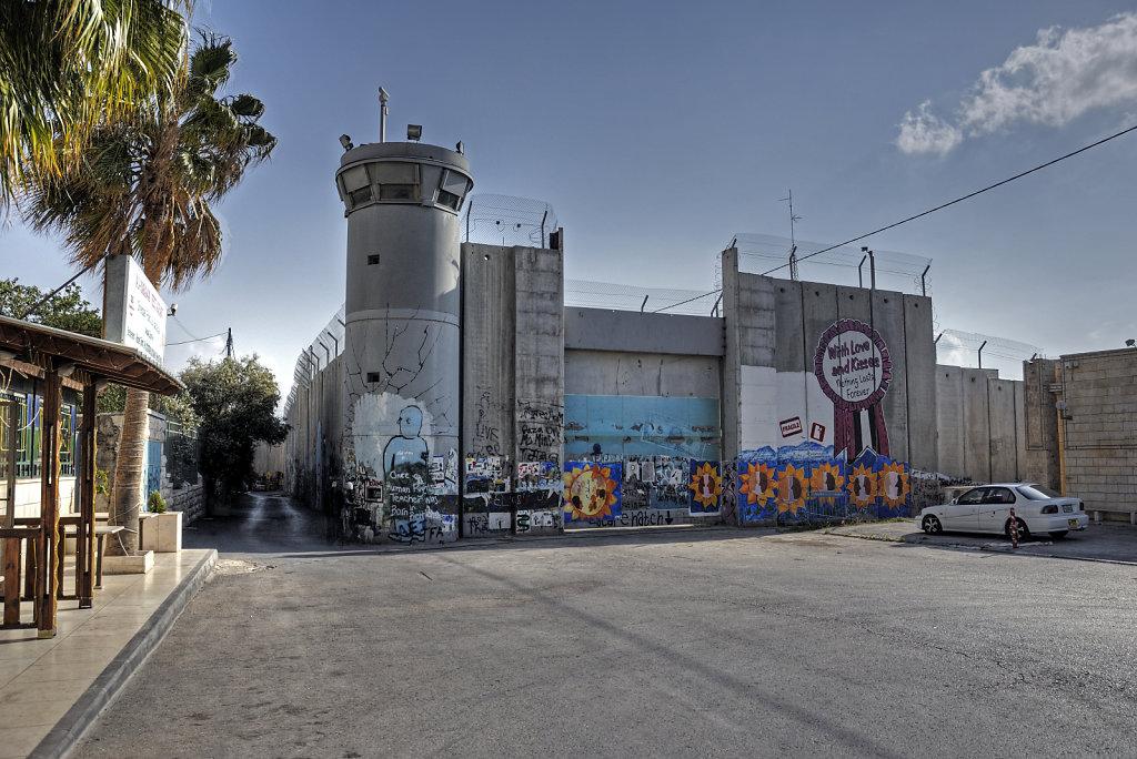 palästina- bethlehem - die mauer teil 6