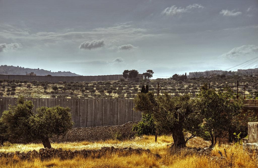 palästina- bethlehem - die mauer teil 7
