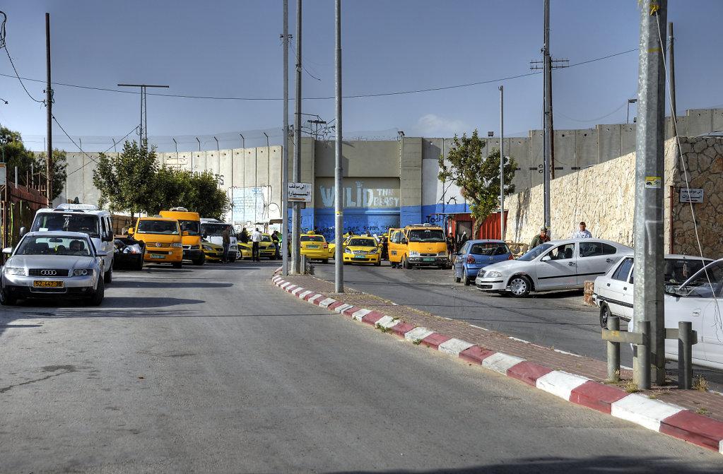 palästina- bethlehem - taxistand