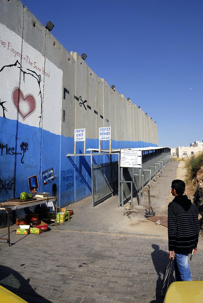 palästina- bethlehem - die mauer teil 8