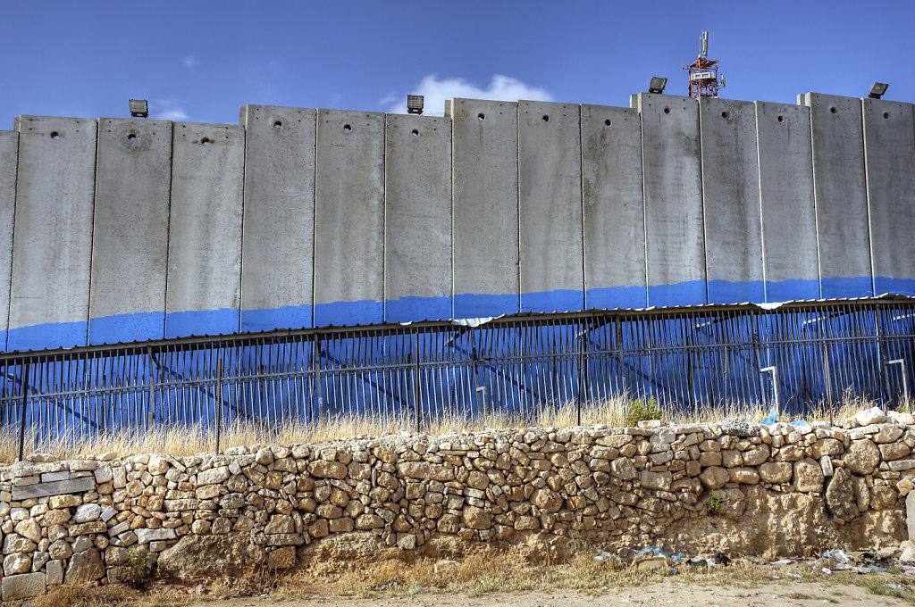 palästina- bethlehem - blau