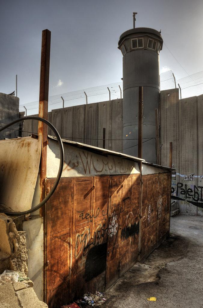 palästina- bethlehem - im schatten