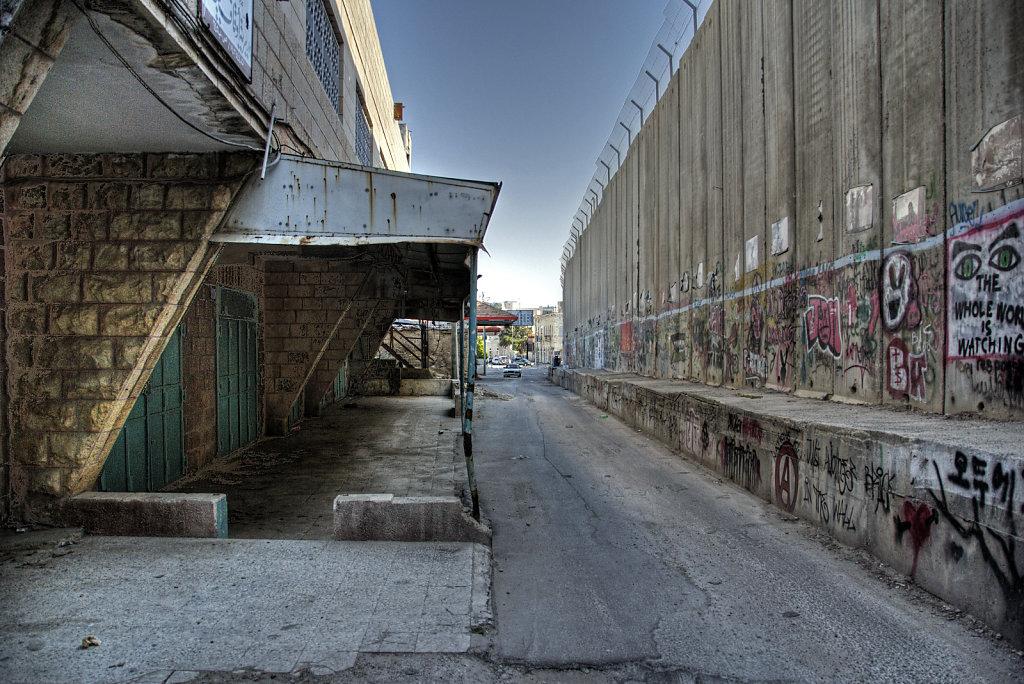 palästina- bethlehem - abgeschnitten