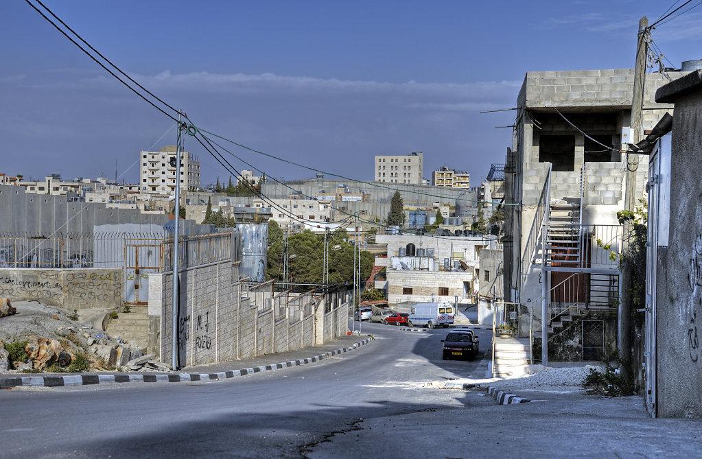 palästina- bethlehem - die mauer teil 11