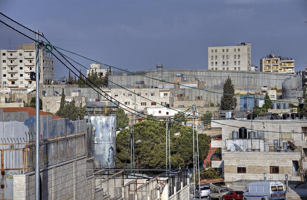 palästina- bethlehem - die mauer teil 12