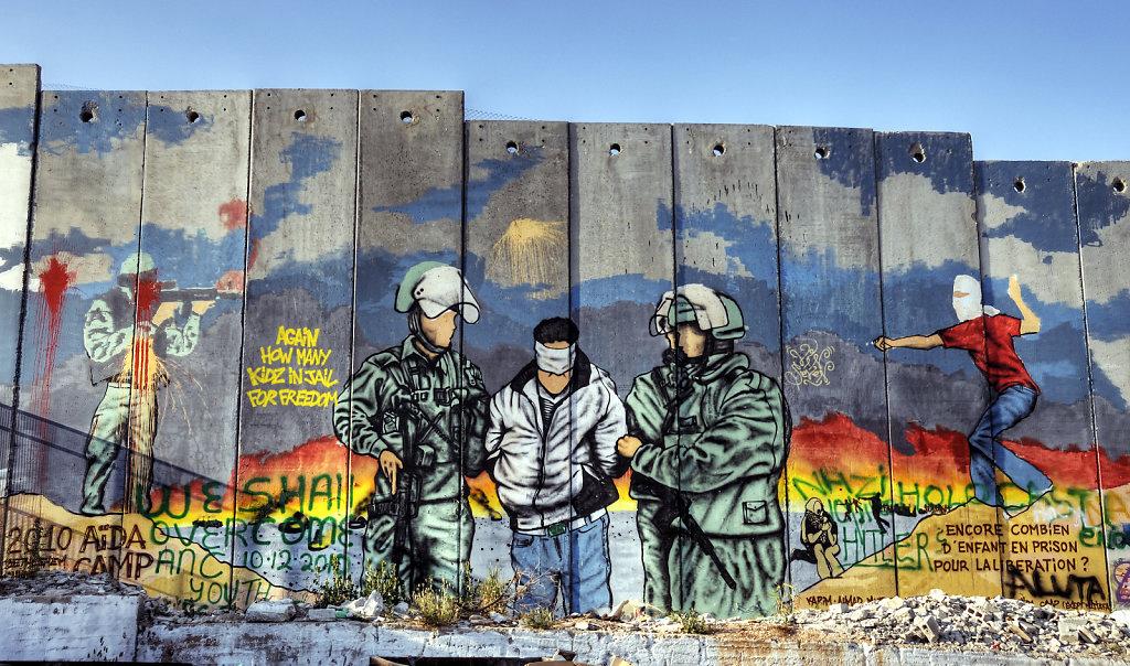 palästina- bethlehem - welcome in palestine detail