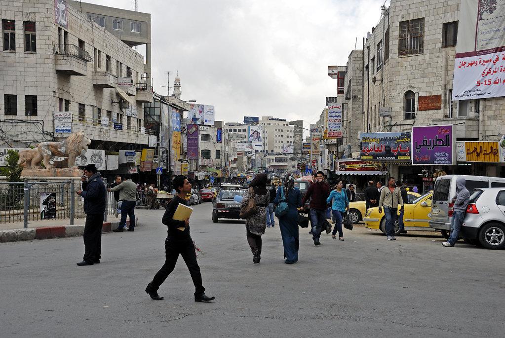 palästina- ramallah - am al-manarah-platz teil 2