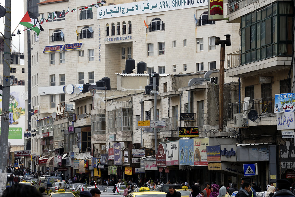 palästina- ramallah - der kampf um die aufmerksamkeit