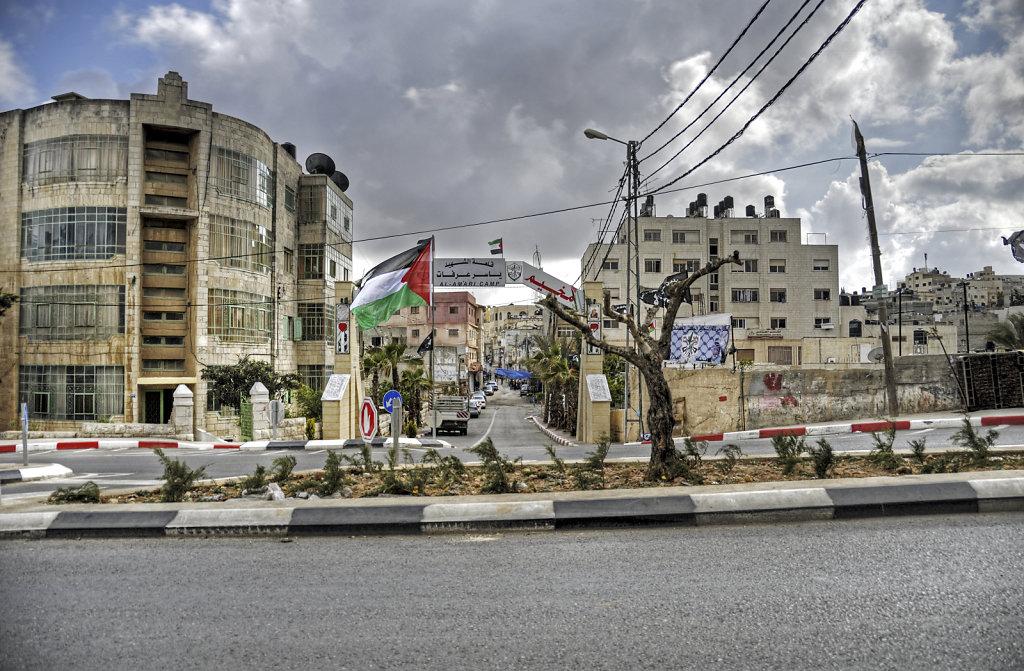 palästina- ramallah - al-amari camp