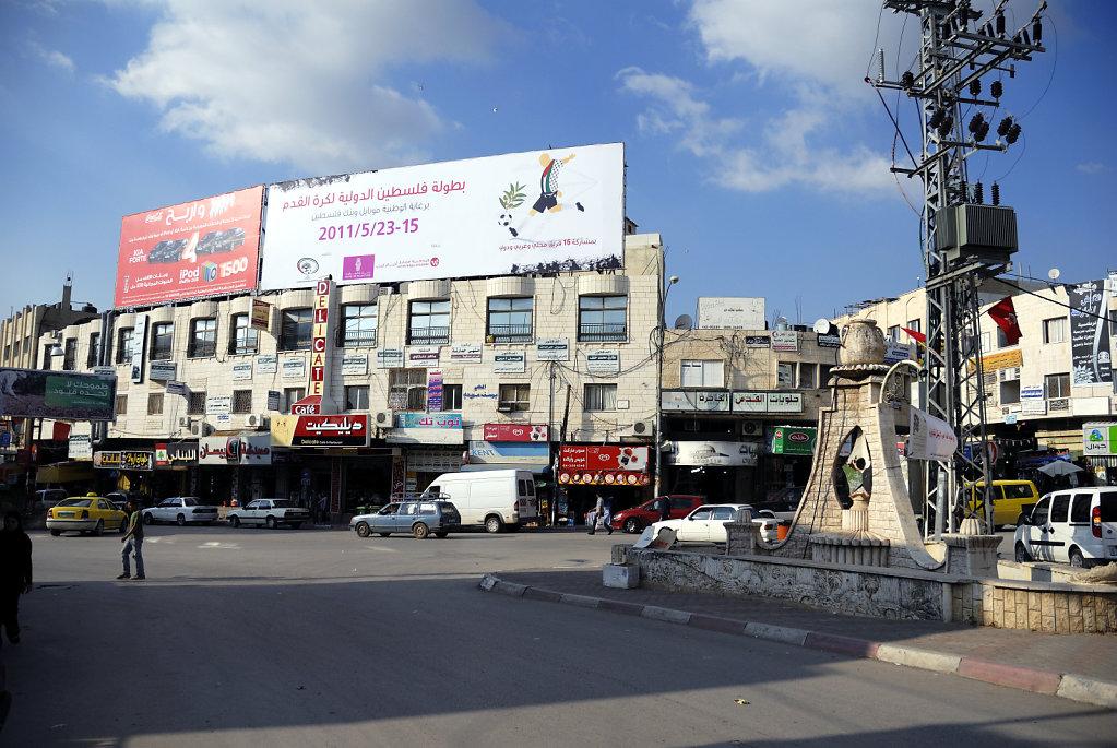palästina- jenin - unterwegs in  der stadt