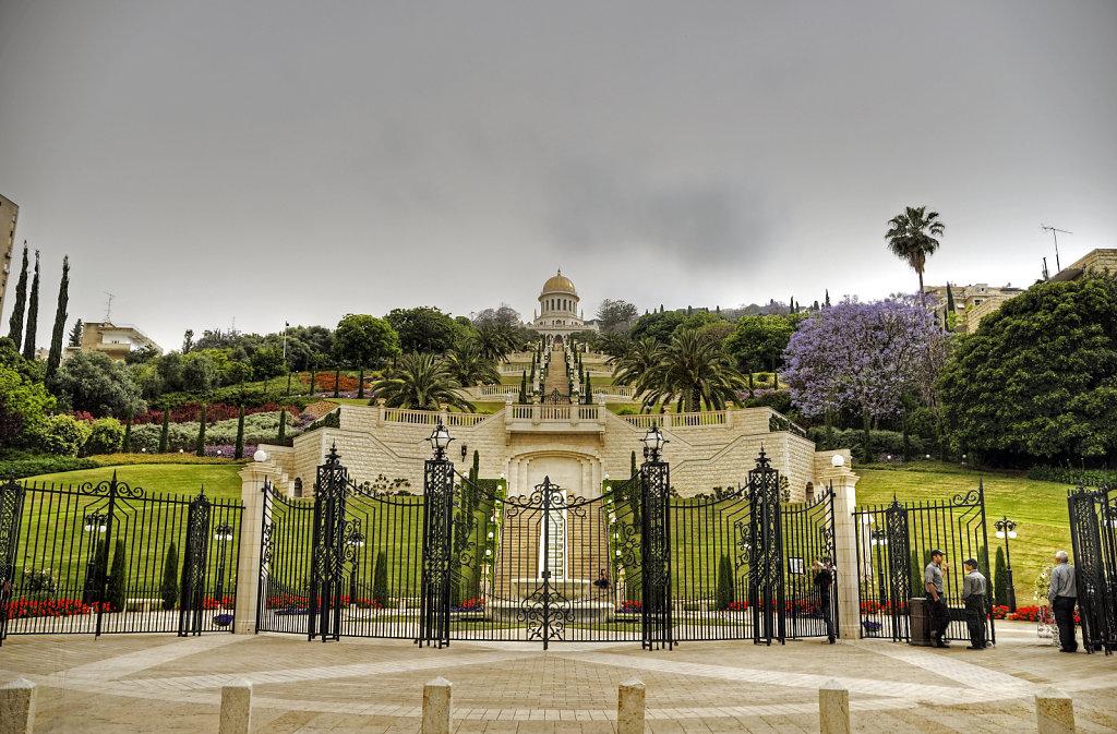 israel – haifa - die gärten der bahai teil 2