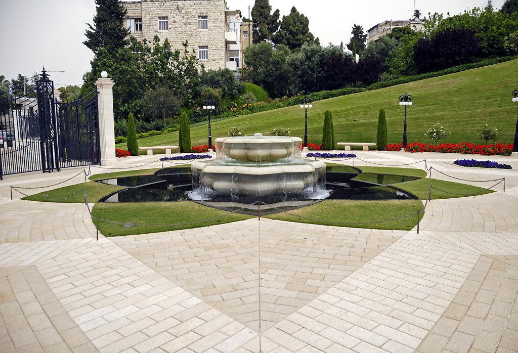 israel – haifa - die gärten der bahai teil 3