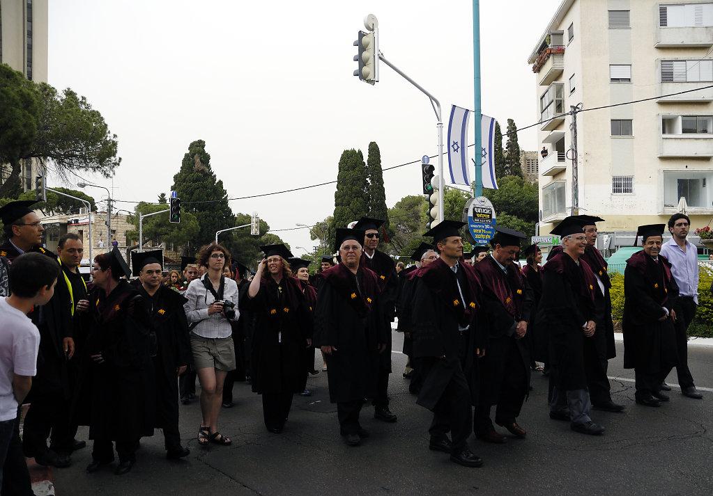 israel – haifa - graduation day