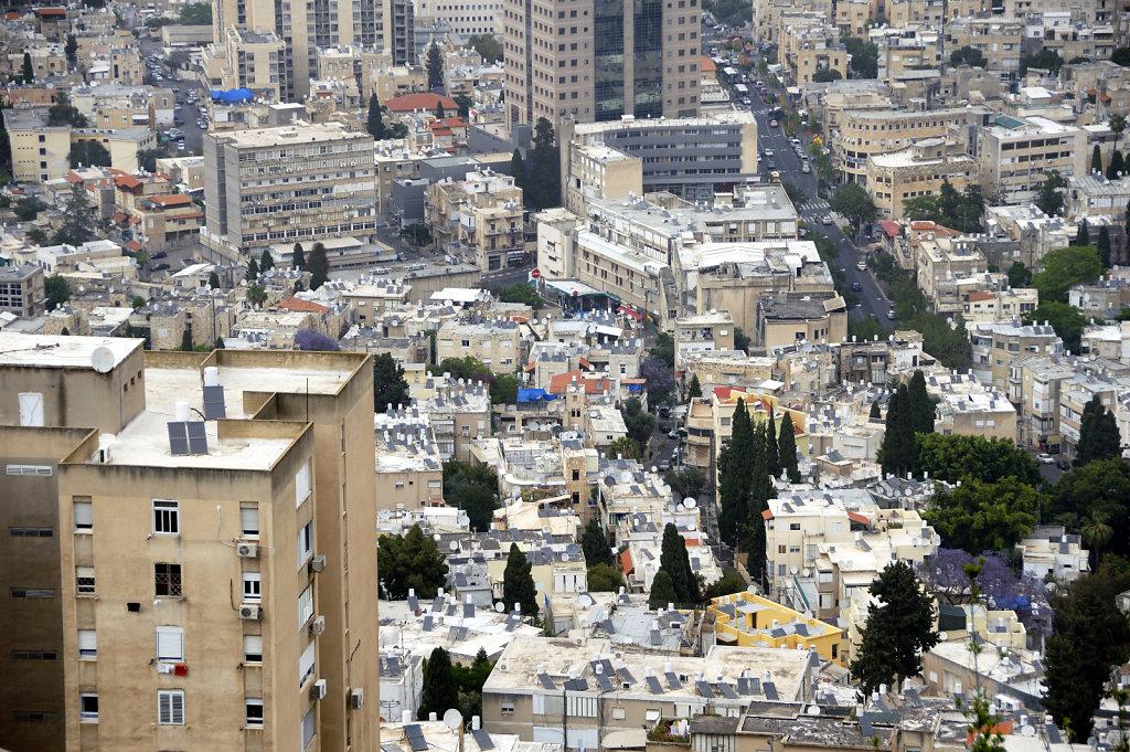 israel – haifa - blick von oben