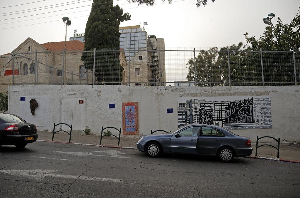 israel – haifa - kunst im öffentlichen  raum