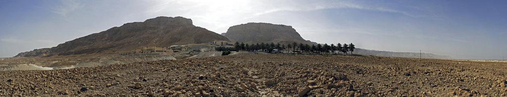 israel- totes meer - masada -  teilpanorama 2