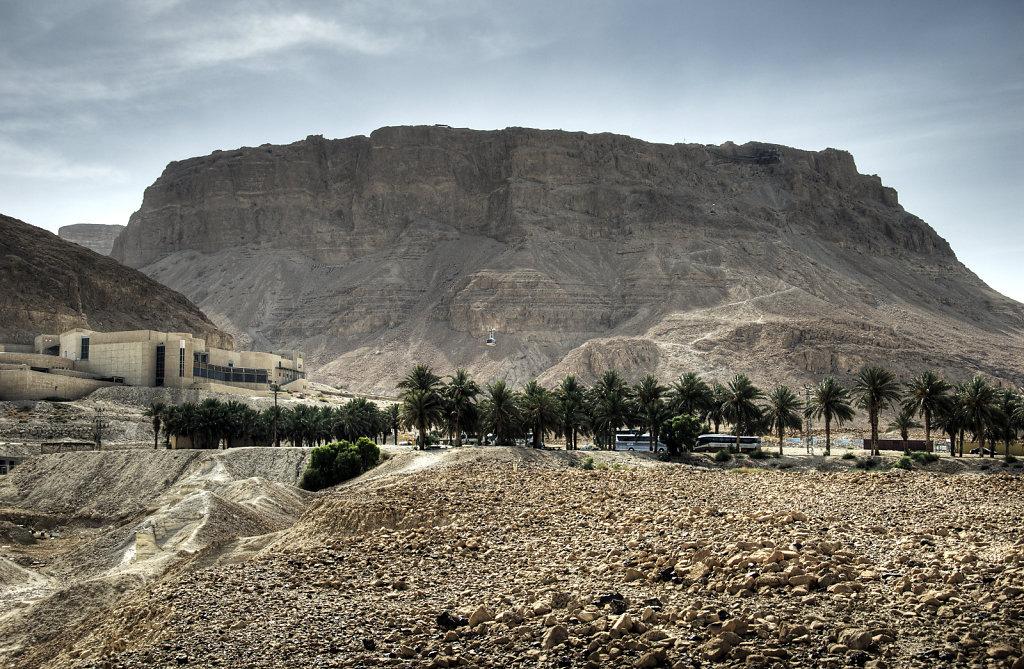 israel- totes meer - masada