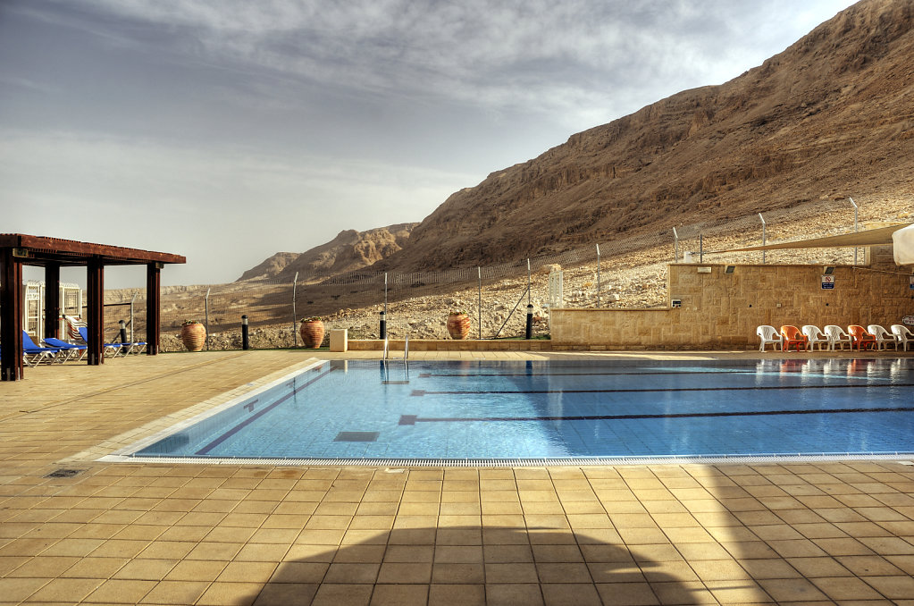 israel- totes meer - masada - am pool