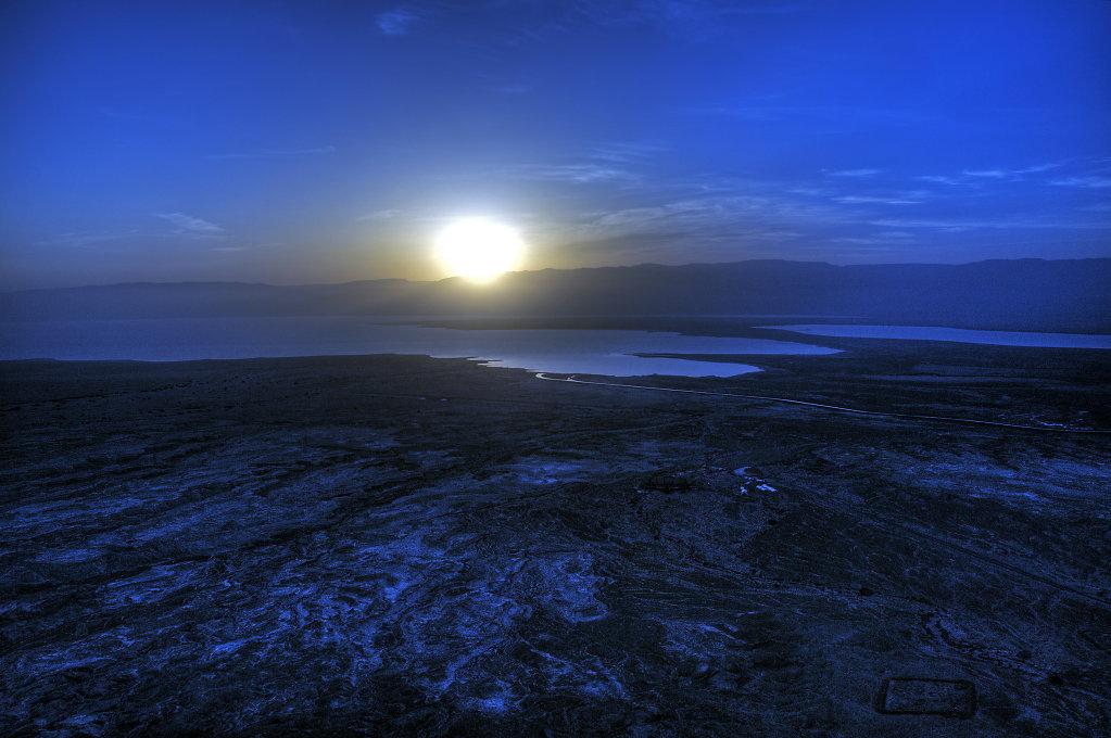 israel- totes meer - masada  - sonnenaufgang teil 3