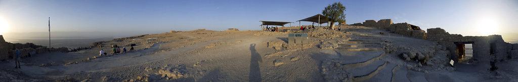 israel- totes meer - masada - 360°