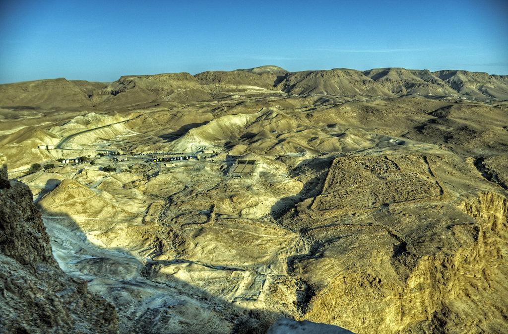 israel- totes meer - masada  – westen