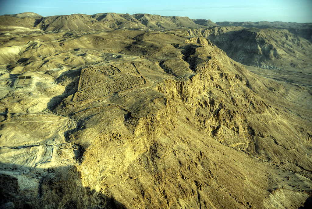 israel- totes meer - masada  – westen 2