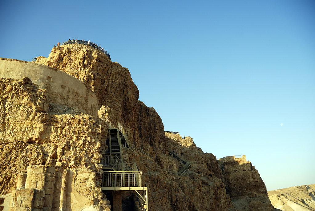 israel- totes meer - masada - palast des herodes