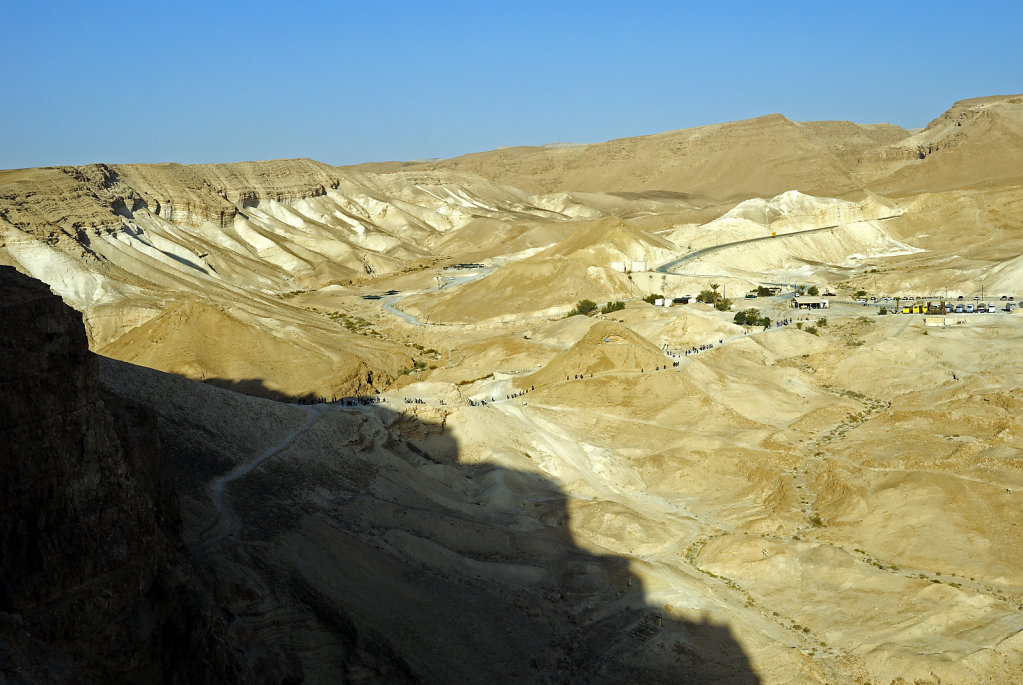 israel- totes meer - masada  - der rampenpfad