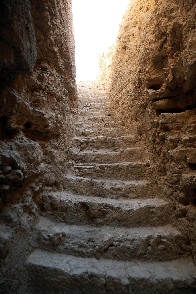 israel- totes meer - masada  – die treppe