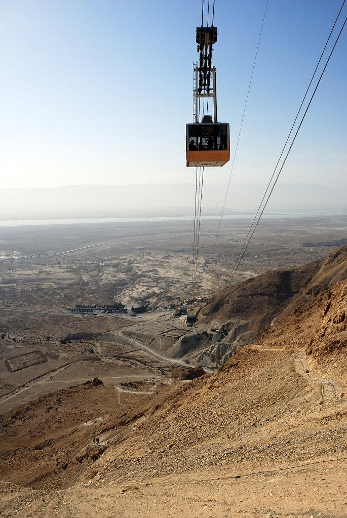 israel- totes meer - masada  – die seilbahn teil 3