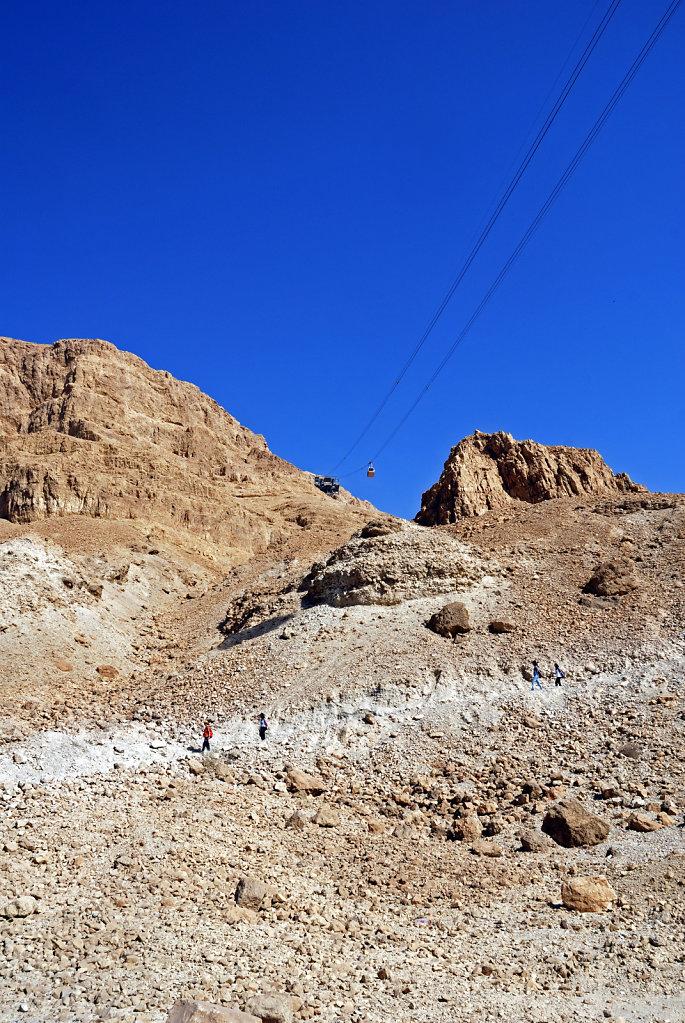 israel- totes meer - masada  – der snake trail