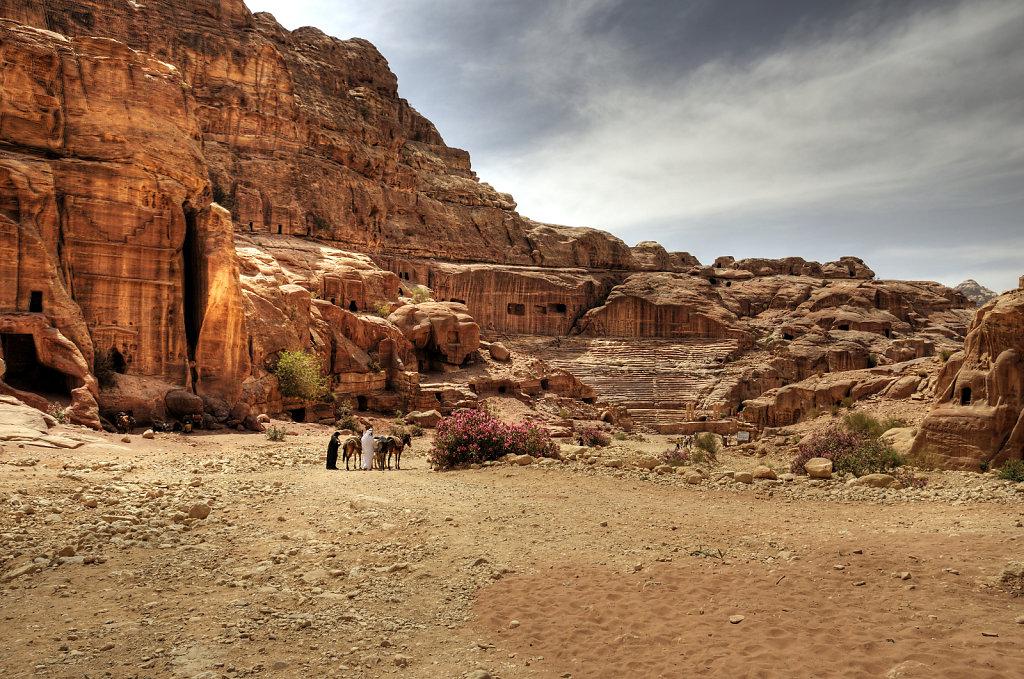 jordanien - petra -  der ausritt teil 1