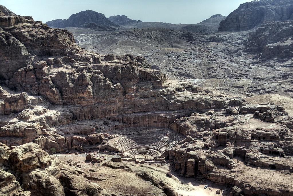 jordanien - petra - das römische theater teil 3