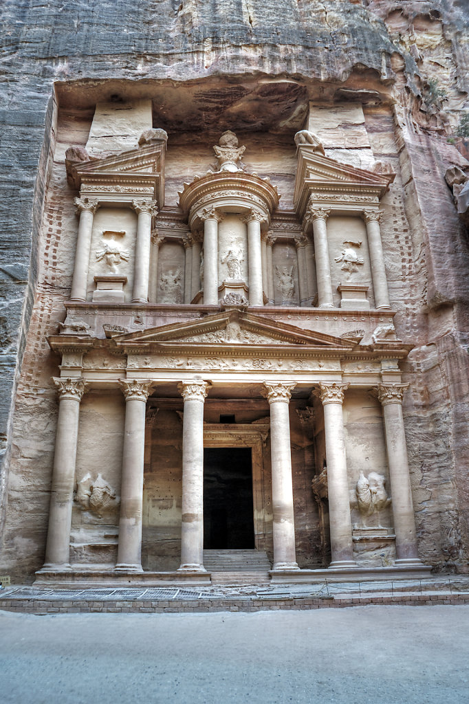jordanien - petra - al kazane / das schatzhaus  teil 2