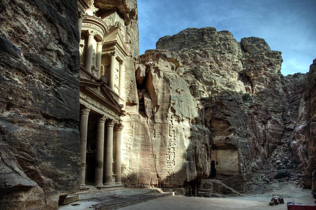 jordanien - petra - al kazane / das schatzhaus teil 3
