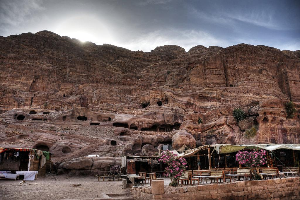 jordanien - petra - sonnenaufgang