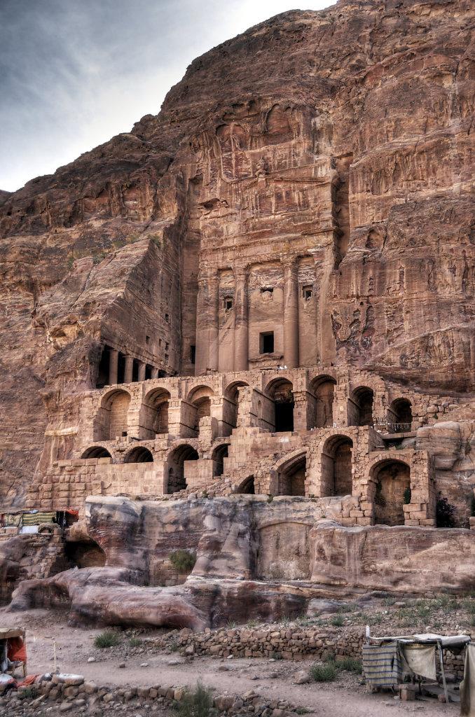 jordanien - petra - das urnengrab teil 2