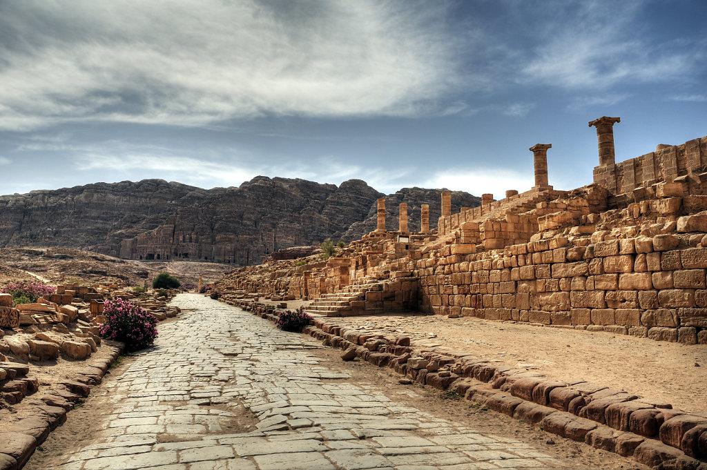jordanien - petra - cardo maximus teil 3