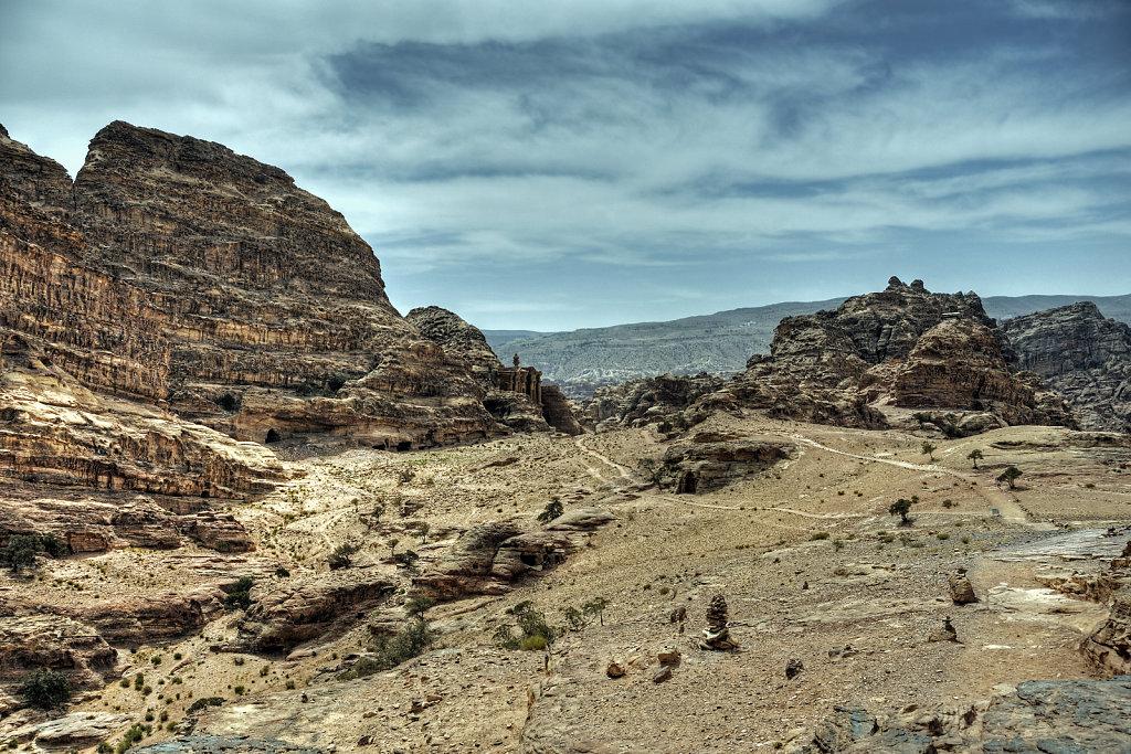 jordanien - petra - oben