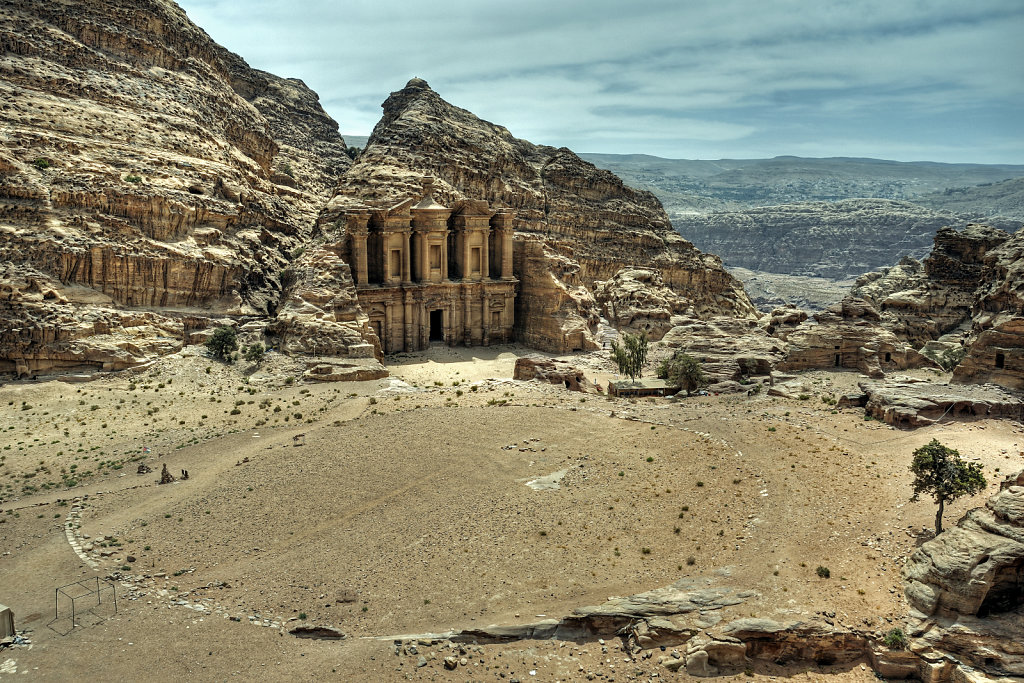 jordanien - petra - el-deir teil 2