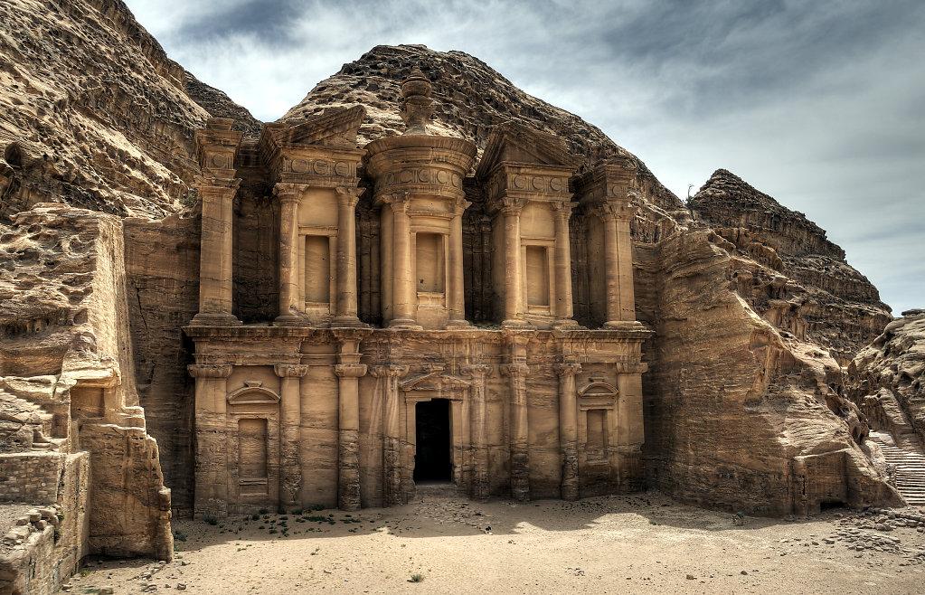 jordanien - petra - el-deir teil 3