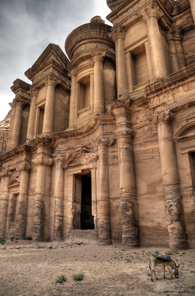 jordanien - petra - el-deir teil 5