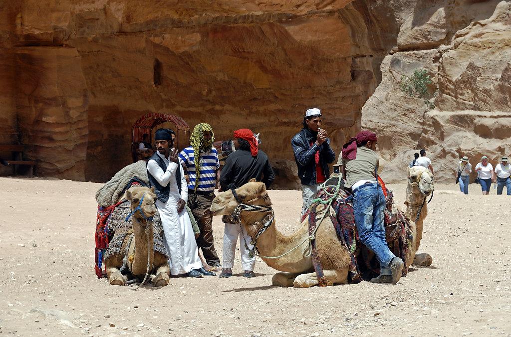 jordanien - petra - coole jungs
