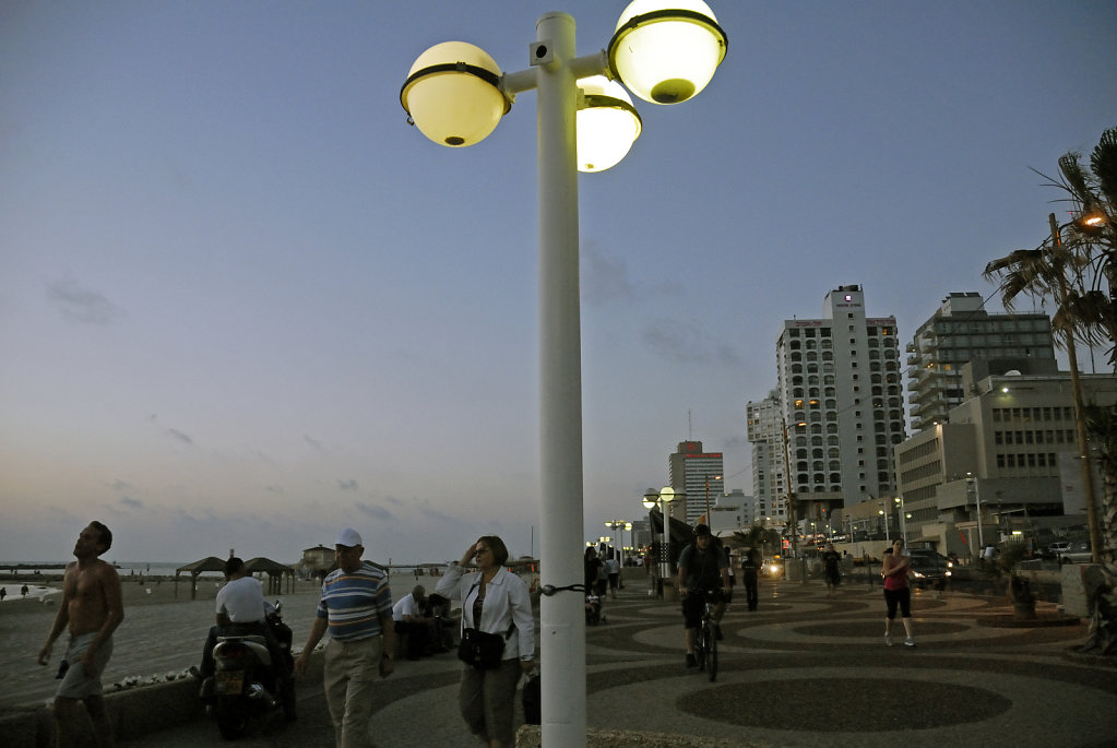 israel – tel aviv - shlomo lahat  promenade teil 2