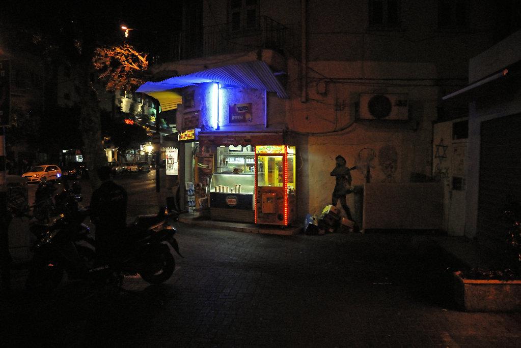 israel – tel aviv - ben yehuda nachts